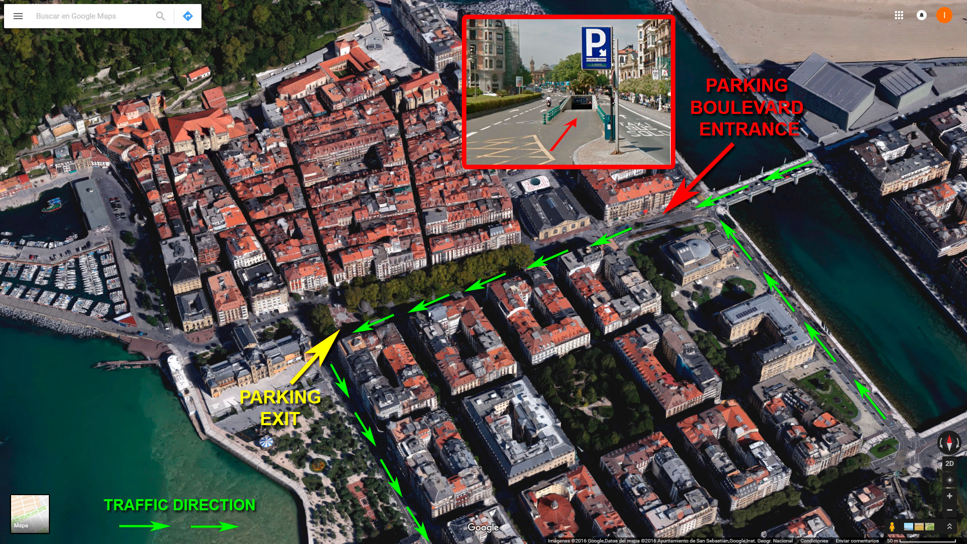 parking boulevard san sebasti n blog iberorent apartments san sebasti n. Black Bedroom Furniture Sets. Home Design Ideas
