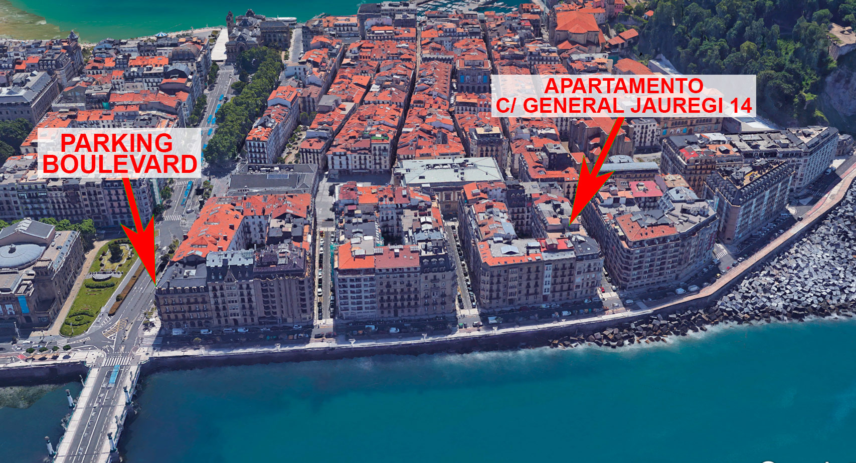 parking boulevard y apartamento en la calle general jauregi blog iberorent apartments san. Black Bedroom Furniture Sets. Home Design Ideas